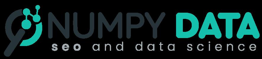Logo Numpy Data seo and data science