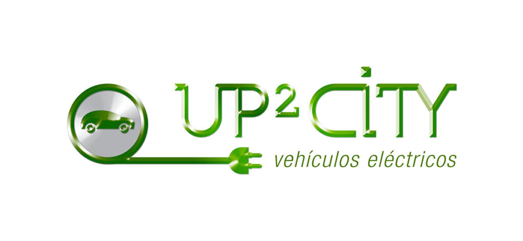 Logo de Up2CITY vehículos eléctricos