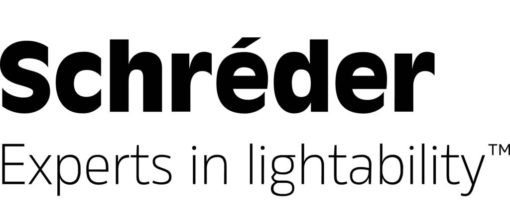 Logo de Schréder Experts in Lightability