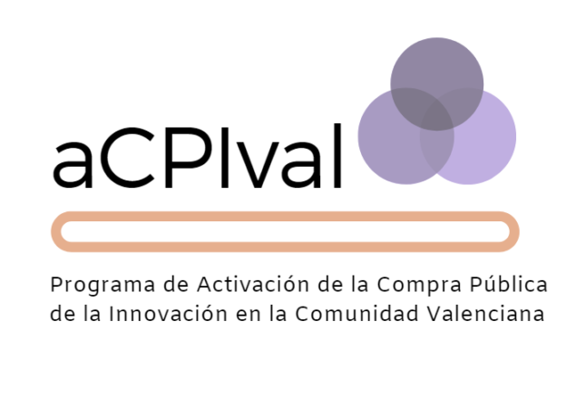 Logo de aCPIval, Programa de Activación de la Compra Publica de la innovación en la comunidad Valenciana
